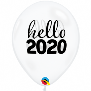 New Year Latex Balloons | Simply Hello 2020 | Free Delivery